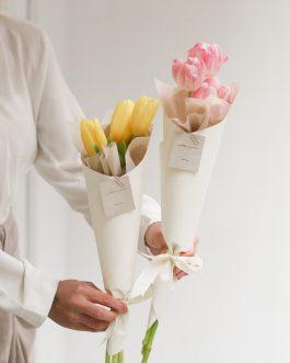 tulip鬱金香小花束|Whiteflower
