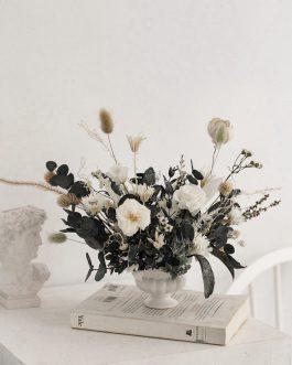 貝絲的花園-永生花盆栽課程|whiteflower