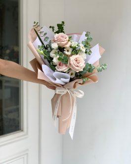 玫瑰鮮花束-柔光|White flower
