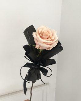 單支玫瑰鮮花束|White flower